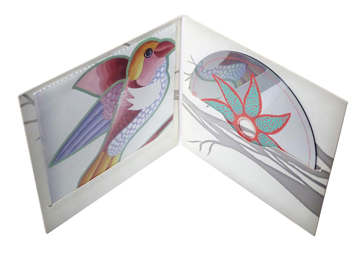 Digifile CD 4 полосы 1 диск + вырез для буклета
