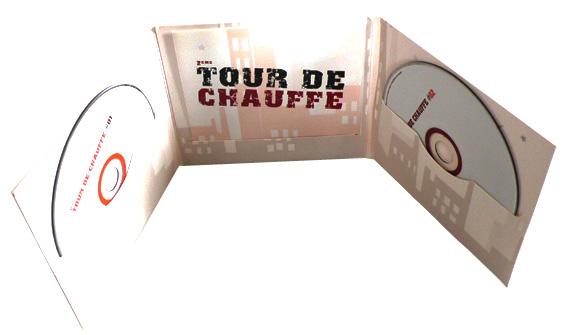 Digifile CD 6 полос 2 диска+ вырез для буклета