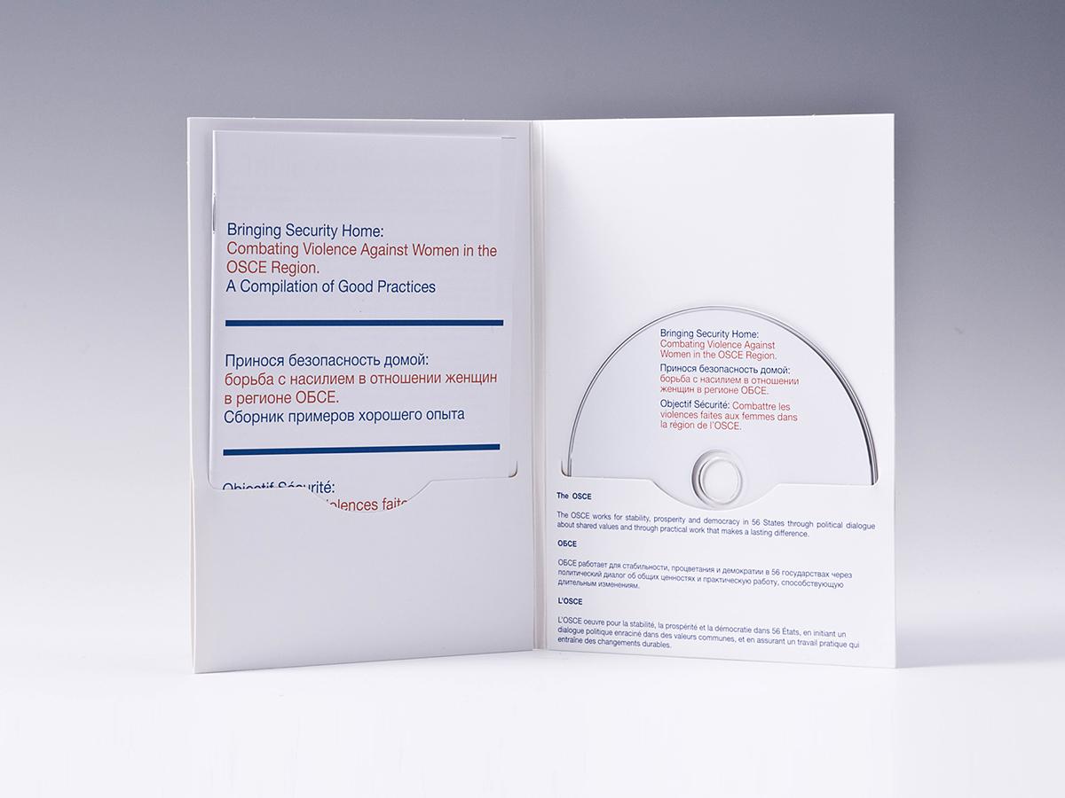 Digifile DVD 4 полосы 1 диска + вырез под буклет