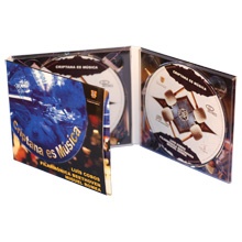 Digipack CD 6 полос 2 трея + рукав для буклета
