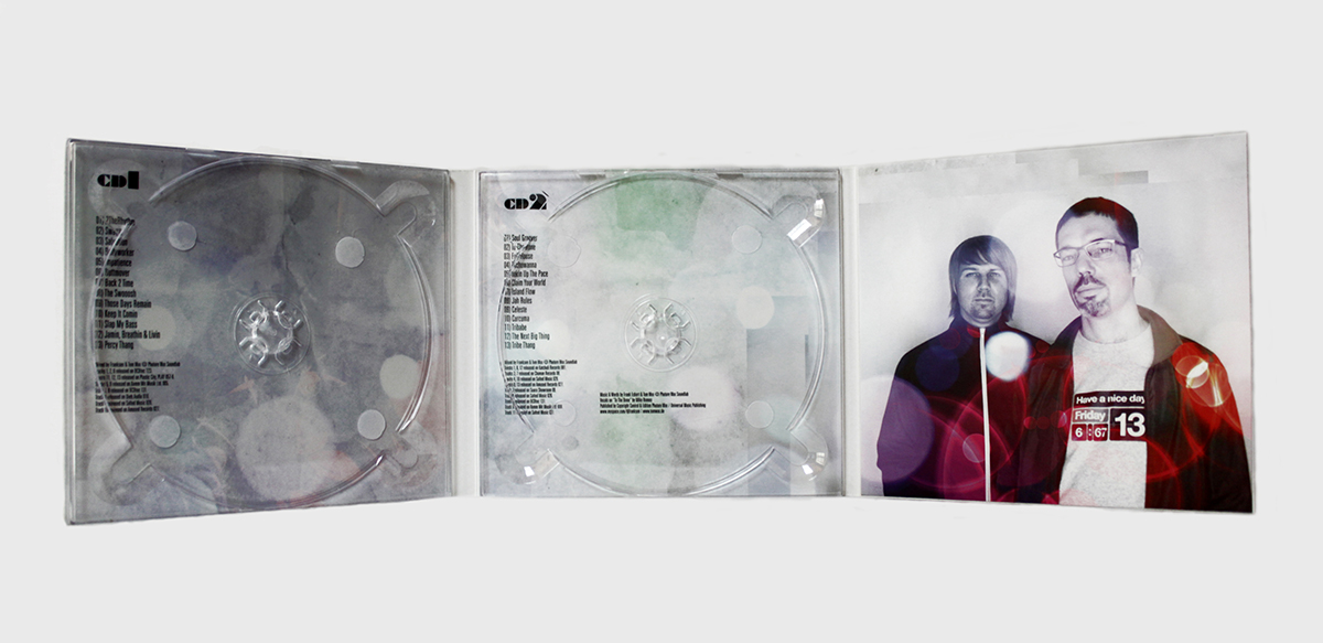 Digipack CD 6 полос 2 трея