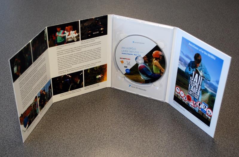 Digipack DVD 8 полос 1 трея