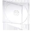 Jewel box CD (прозрачный трей)