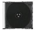 Слим бокс CD (черный трей)