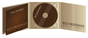 Диджипак (Digipack) для CD пример 3