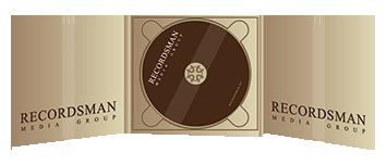 Диджипак (Digipack) для CD пример 1