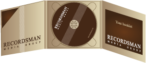 Диджипак (Digipack) для CD пример 2