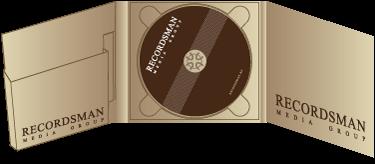 Диджипак (Digipack) для CD пример 4