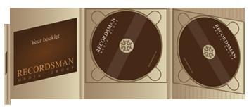 Диджипак (Digipack) для CD пример 13