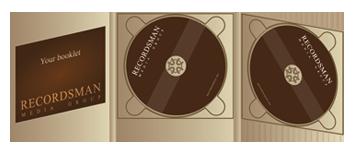 Диджипак (Digipack) для CD пример 12