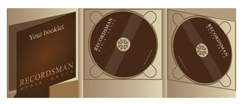 Диджипак (Digipack) для CD пример 11
