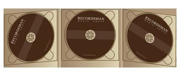 Диджипак (Digipack) для CD пример 16