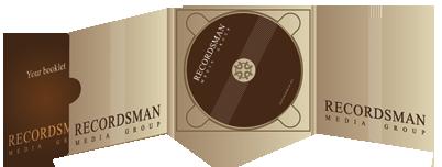 Диджипак (Digipack) для CD пример 6