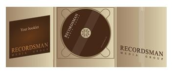 Диджипак (Digipack) для CD пример 5