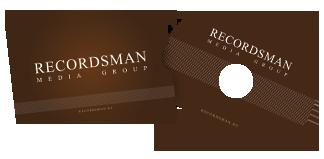 Упаковка для визиток и мини-дисков