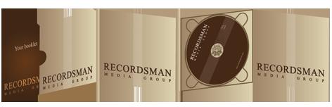 Диджипак (Digipack) для CD 5