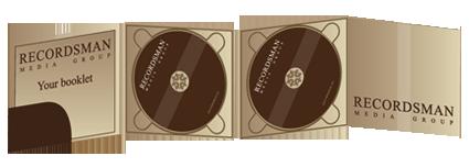 Диджипак (Digipack) для CD 10