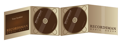 Диджипак (Digipack) для CD 8