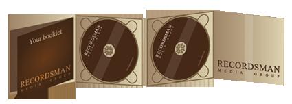 Диджипак (Digipack) для CD 7
