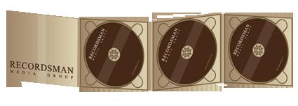 Диджипак (Digipack) для CD 11