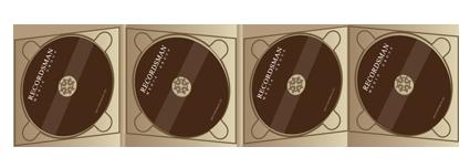 Диджипак (Digipack) для CD 16