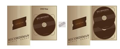 Диджипак для DVD с вырезом под визитку
