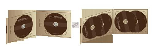 Диджипак для DVD (клапан на магните)
