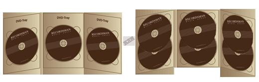 Digipack для DVD (с клапаном на магните)