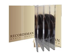 Диджистак DVD-формата (до 12 дисков)