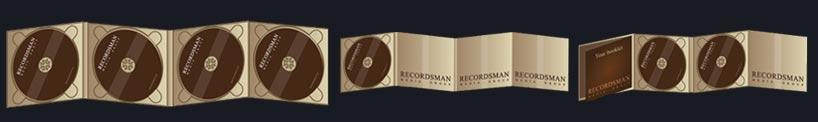 Упаковка для 2 дисков