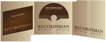 Дигифайл CD-формат с прорезью для буклета