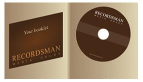DigiFix для CD с прорезью для буклета