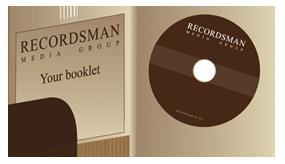 Дигификс для CD с карманом для буклета