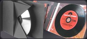 Упаковка из картона для CD