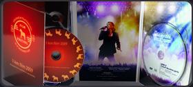 Упаковка из картона для DVD