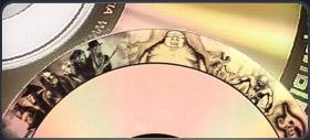 Пит-арт CD и DVD-дисков