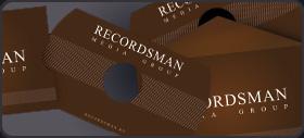 Картонная упаковка для мини-CD и визиток