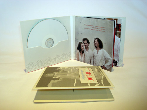 Digifile CD 4 полосы 1 диска + приклейка буклета