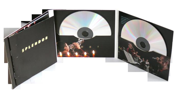 Digifile CD 6 полос 2 диска + приклейка буклета