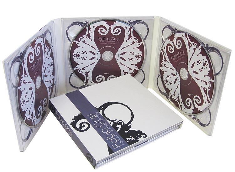 Digipack CD 6 полос 3 трея