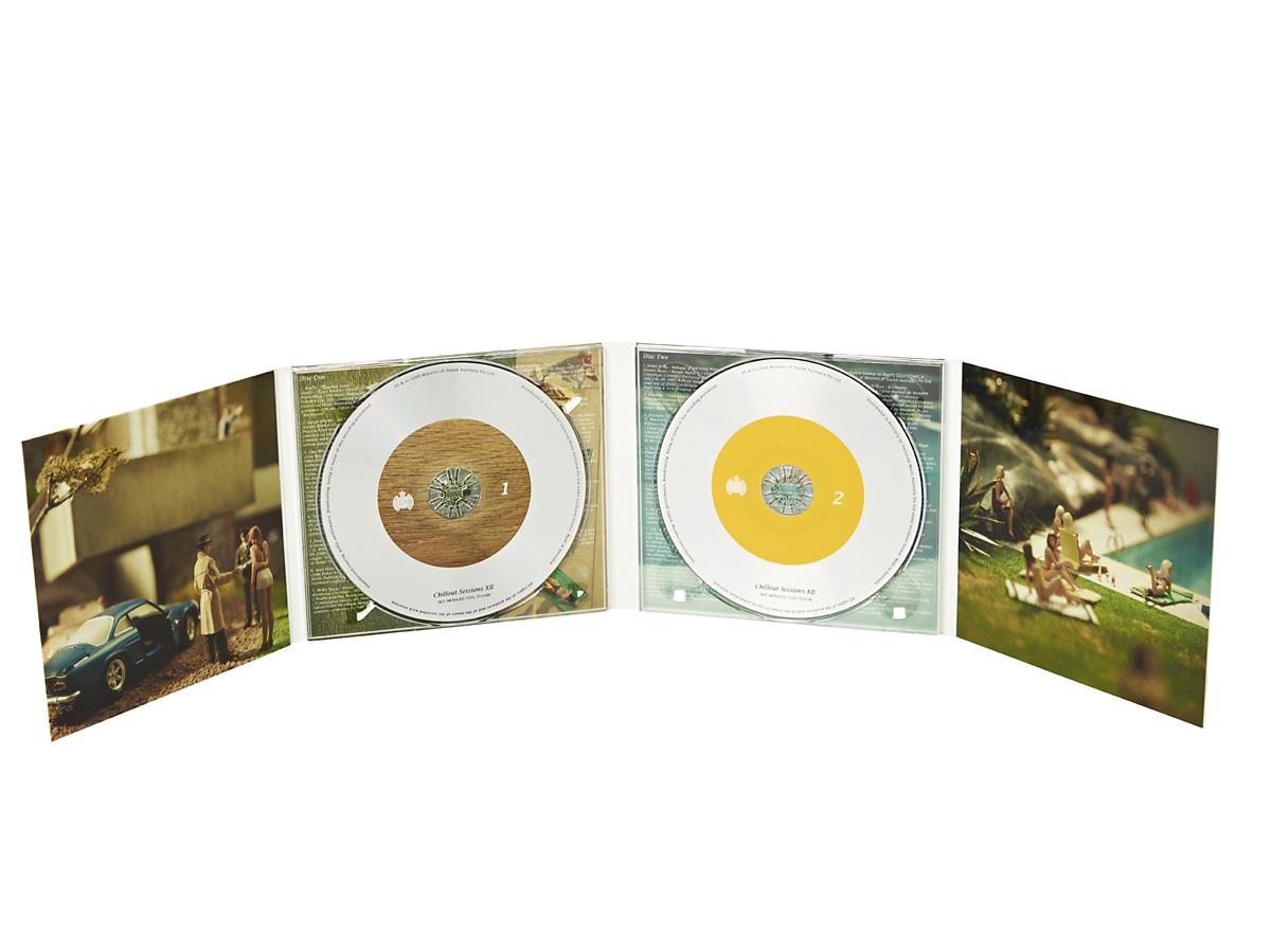 Digipack CD 8 полос 2 трея