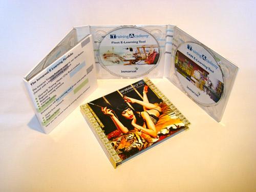 Digipack CD 8 полос 4 трея