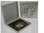 CD-диск + Тираж CD диска + Коробка крышка дно с печатью