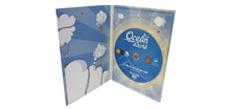 Картонный Digipack DVD (4п) с печатью