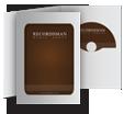 Дигифайл DVD (вертикальный, белый)