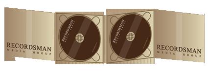 Диджипак (Digipack) для CD 6