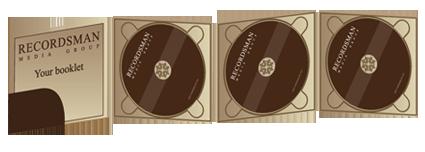 Диджипак (Digipack) для CD 15