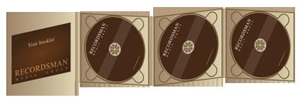 Диджипак (Digipack) для CD 13