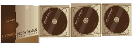 Диджипак (Digipack) для CD 14