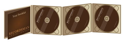 Диджипак (Digipack) для CD 12